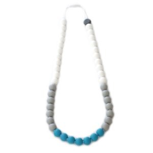 Collier de dentition - Color Bloc - Nautique