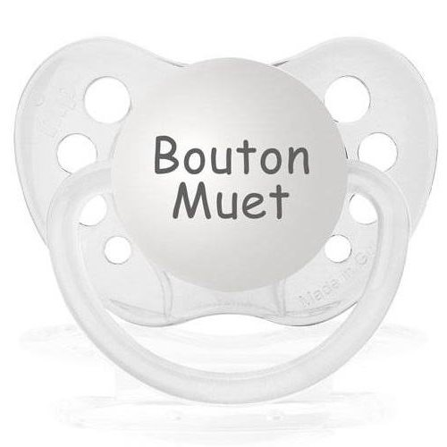Suce  Mute Button ( anglais) 0-6 mois