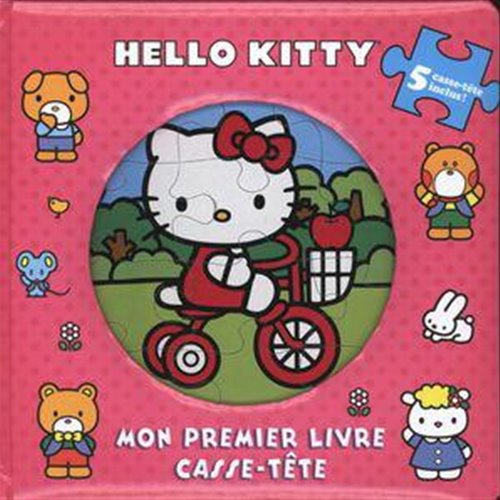 Mon premier livre casse t te hello kitty - Tete hello kitty ...